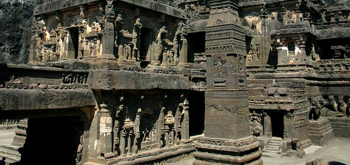 Tourist Attraction Ellora Cave